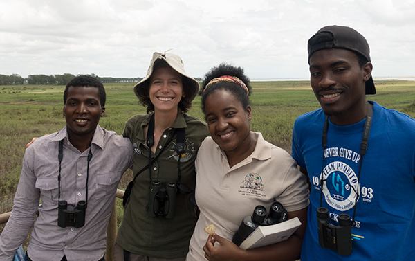 Claire joins the Gorongosa MSc class