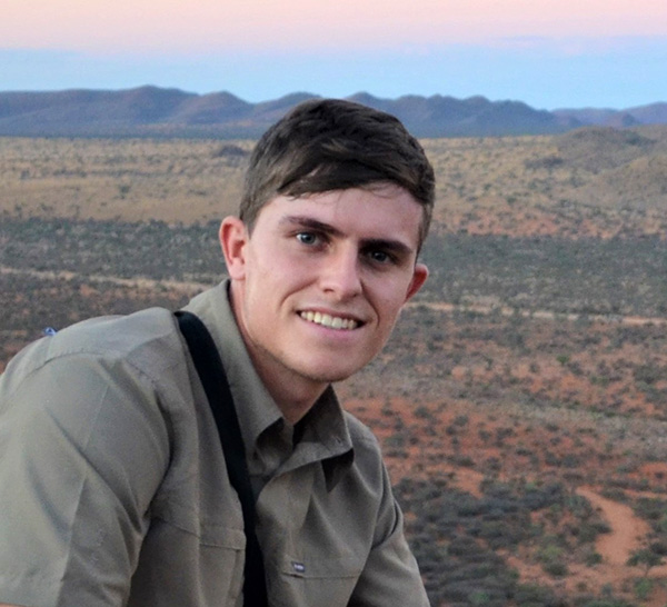 UCT student Rion Cuthill joins us for a week
